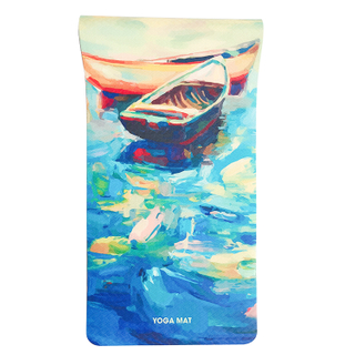 High Quality Customized Design Colorful Digital Print Yoga Mats