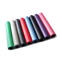 Premium High Density Fitness PU Leather Custom Exercise Yoga Mat
