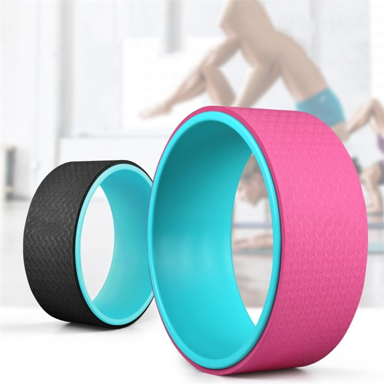 Factory Price ABS TPE Training Gym Yoga Wheel